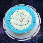 Doraemon Themed Cake