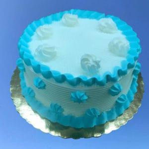 "Vanilla Cake 6"""