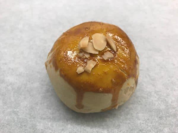 Lotus with Egg Yolk Crisp Pastry